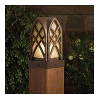 Kichler Lighting Cathedral 1 Light Landscape 12V Deck in Textured Tannery Bronze 15479TZT photo thumbnail