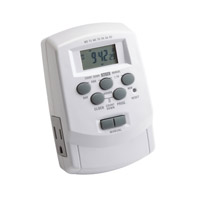 Kichler Lighting Digital Timer with Daylight Sa Landscape 12V Accessory in White 15556WH