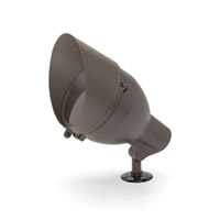 Kichler Lighting Accessory Cowl PAR38 Med Landscape 120V Accessory in Textured Midnight Spruce 15660MST