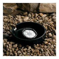 Landscape 12V 12V 7 watt Textured Black Landscape In-Ground Light