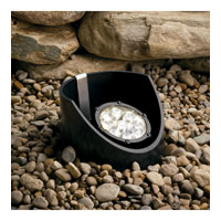 Landscape 12V 12V 10 watt Textured Black Landscape In-Ground Light