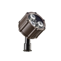 Kichler 15731AZT Landscape 12V 12V 3 watt Textured Architectural Bronze Landscape Accent Light