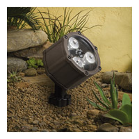 Kichler Lighting Accent LED 4.5W 60 deg wide Landscape 12V LED Accent in Textured Architectural Bronze 15733AZT