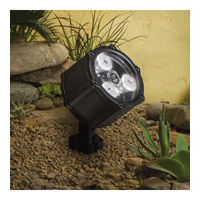 Kichler Lighting Accent LED 4.5W 60 deg wide Landscape 12V LED Accent in Textured Black 15733BKT