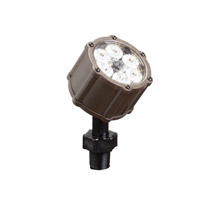 Kichler Lighting Accent LED 8.5W 35 degree med Landscape 12V LED Accent in Textured Architectural Bronze 15742AZT