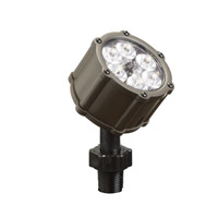 Kichler Lighting Accent LED 8.5W 35 degree med Landscape 12V LED Accent in Bronzed Brass 15742BBR