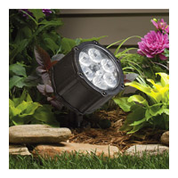 Kichler Lighting Accent LED 8.5W 60 deg wide Landscape 12V LED Accent in Textured Black 15743BKT photo thumbnail