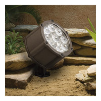Kichler Lighting Accent LED 12.4W 10 degree narrow Landscape 12V LED Accent in Textured Architectural Bronze 15751AZT
