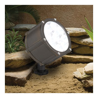 Kichler Lighting Accent LED 12.4W 10 degree nar Landscape 12V LED Accent in Bronzed Brass 15751BBR