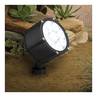 Landscape 12V 12V 12.4 watt Textured Black Landscape Accent Light