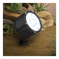 Kichler Lighting Accent LED 12.4W 60 deg wide Landscape 12V LED Accent in Textured Black 15753BKT