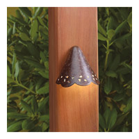 Kichler Signature Deck Light in Textured Tannery Bronze 15763TZT27R