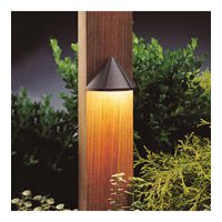 Kichler 15765AZT27R Signature 15V 2.5 watt Textured Architectural Bronze Deck Light in 2700K, 2.25 inch