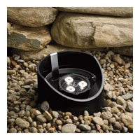 Kichler Lighting 4.5W 10 Degree LED Well Light Landscape 12V LED Inground in Textured Black 15767BKT