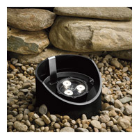 Kichler Lighting 4.5W 35 Degree LED Well Light Landscape 12V LED Inground in Textured Black 15768BKT