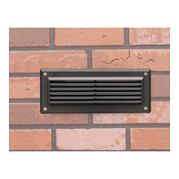 Landscape 12V 12V 2 watt Textured Architectural Bronze Brick Light in 3000K, LED, 4 inch