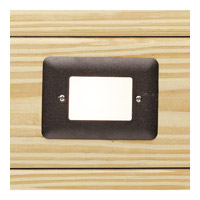 Signature 15V 2.5 watt Textured Architectural Bronze Deck Light in 3000K, 3.00 inch