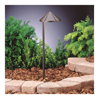 Kichler Lighting Outdoor LED 3 Light Landscape 12V LED Path/Spread in Textured Architectural Bronze 15815AZT