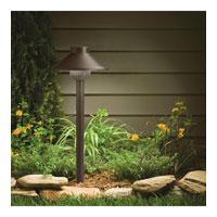 Bronze Kichler 15821AZT27 Landscape LED Low Voltage Aluminum Landscape Path Lighting LED