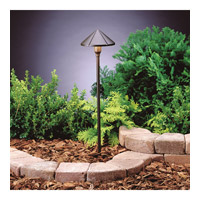 Kichler 15826AZT30R Signature 12V 6 watt Textured Architectural Bronze Pathway Light in 3000K