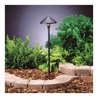 Kichler 15826BKT27R Signature 12V 6 watt Textured Black Pathway Light in 2700K