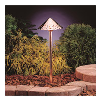 Kichler 15843CO Hammered Roof 12V 4 watt Copper Landscape 12V LED Path/Spread in 3000K