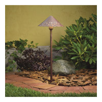 Kichler 15843TZT Hammered Roof 12V 4 watt Textured Tannery Bronze Landscape 12V LED Path/Spread in 3000K