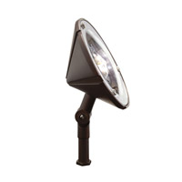 Kichler Lighting Outdoor LED Landscape 12V LED Wall Wash in Bronzed Brass 15861BBR