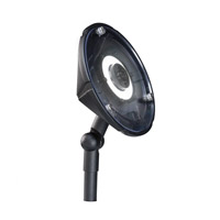 Kichler 15861BKT30R Signature 12V 4.3 watt Textured Black Outdoor Wall Wash in 3000K