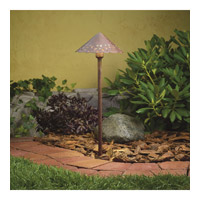 Kichler 15871TZT27 Hammered Roof 12V 2.00 watt Textured Tannery Bronze Landscape 12V LED Path/Spread in 2700K