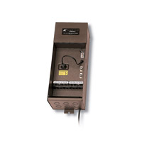 Kichler Lighting Transformer 200W Plus Series Landscape 12V Transformer in Textured Architectural Bronze 15PL200AZT