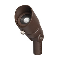 Landscape 12V LED 12VAC/VDC 4 watt Textured Architectural Bronze Landscape Accent in 3000K