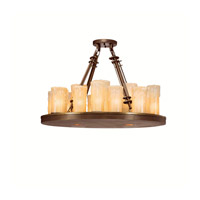 Kichler Lighting Plateau 22 Light Chandelier in Olde Bronze 1601OZ photo thumbnail