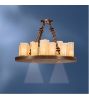 Kichler Lighting Plateau 22 Light Chandelier in Olde Bronze 1601OZ alternative photo thumbnail