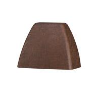 Kichler 16111TZT30 Signature 15V 2.5 watt Textured Tannery Bronze Deck Light in 3000K LED