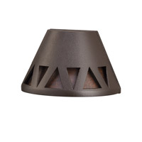 Kichler 16112AZT27 Signature 15V 2.5 watt Textured Architectural Bronze Deck Light in 2700K