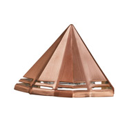 Kichler 16113CO27 Signature 15V 2.5 watt Copper Deck Light in 2700K