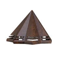 Kichler 16113TZT27 Signature 15V 2.5 watt Textured Tannery Bronze Deck Light in 2700K