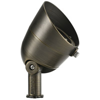 Kichler 16152CBR30 Landscape LED LED 5 inch Centennial Brass Flood Light, Wide