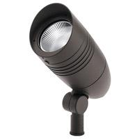 Kichler 16215AZT30 C-Series 120-277V 14.3 watt Textured Architectural Bronze Outdoor Accent Light, Large
