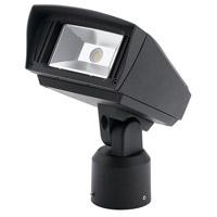 Kichler 16221BKT40SL C-series 120-277V 10 watt Textured Black Outdoor Flood Light Small