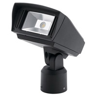 Kichler 16222BKT30SL C-Series 120-277V Textured Black Outdoor Flood Light, Small