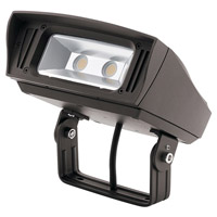 Kichler 16223AZT30TR C-Series 120-277V 33.5 watt Textured Architectural Bronze Outdoor Flood Light, Medium