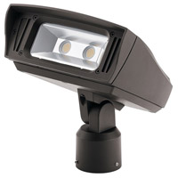 Kichler 16224AZT30SL C-Series 120-277V 52 watt Textured Architectural Bronze Outdoor Flood Light Medium