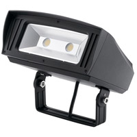 Kichler 16224BKT40TR C-series 120-277V 52 watt Textured Black Outdoor Flood Light Medium