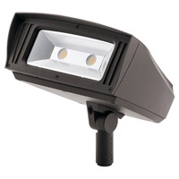 C-Series 120-277V 85 watt Textured Architectural Bronze Outdoor Flood Light, Large