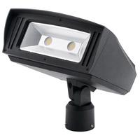 Kichler 16225BKT30SL C-series 120-277V 85 watt Textured Black Outdoor Flood Light Large