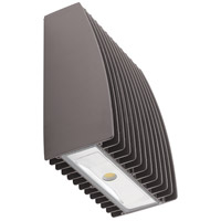 Kichler 16236AZT50 Independence LED 9 inch Textured Architectural Bronze Outdoor Wall Sconce in 5000K Medium