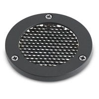 Landscape LED Textured Black C-Series Louver, Small