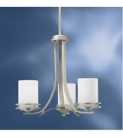 Kichler Lighting Hendrik 3 Light Chandelier in Brushed Nickel 1671NI alternative photo thumbnail